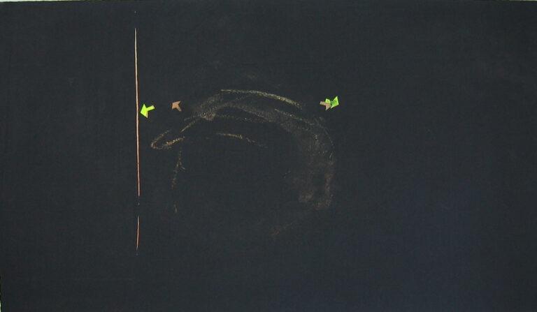 jT. Sortie 1, monotype, 58 x 76 cm